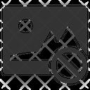 Broken Error Image Icon