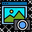 Website Camera Technology Icon