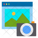 Website Camera Technology Icon
