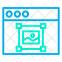 Web Website Designing Icon