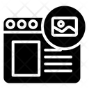 Online Image Web Image Icon