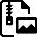 Picture File Zip Icon
