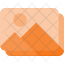 Images Stack Photo Icon
