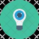 Bulb Creativity Eye Icon