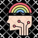 Imagination Idea Rainbow Icon