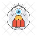Imagination Pencil Eye Icon