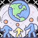 Immigration Check Immigrant Icon