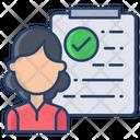 Immigration Check Icon