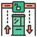 Immigration Checkpoint Borders Immigarion Icon