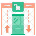 Immigration Checkpoint Icon