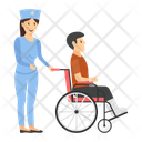 Immobility Wheelchair Patient Accessibility Icon