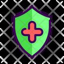 Immune Health Shield Icon