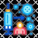 Immune Injection Icon