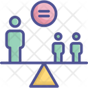Equity Fairness Impartiality Icon