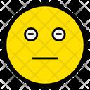 Impassive Neutral Face Icon