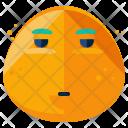 Impatient Emoji Face Icon