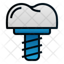 Implant Tooth Dental Icon