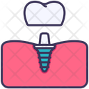 Gum Implant Dental Icon