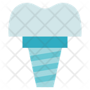 Dentist Implant Denture Icon