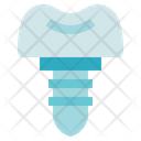 Dental Care Dentist Implant Icon
