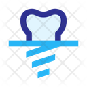 Implant Tooth Icon