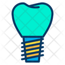 Dental Dentist Implants Icon