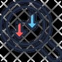 Implementation Arrow Down Icon