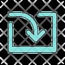 Import Login Save Icon