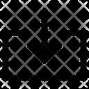 Import Inside Arrows Icon