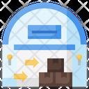 Import Delivery Box Logistics Icon