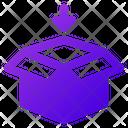 Shopping Open Box Ecommerce Icon