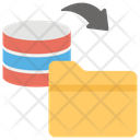 Data Sync Data Import Data Exchanging Icon