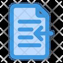 Import Document Import File Import Icon
