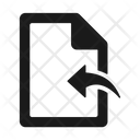 Document File Import Icon