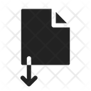 Import Save Download Icon