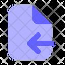 Import File Upload File File Icon
