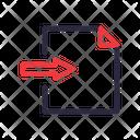 File Import Document Icon