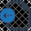Left Import Arrow Icon