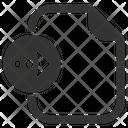 Export File Arrow Icon