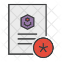Important Star Document Icon