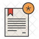 Important Star Certificate Icon