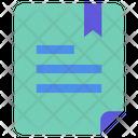 Important Document Bookmark File Bookmark Document Icon