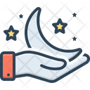Impossible Crescent Improbable Icon