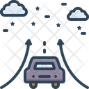 Impossible Sky Night Drive Icon