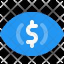 Impression Cost Dollar Icon