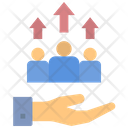 Improve Human Resource Icon
