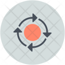Improvement Business Networking Icon