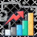 Improvement Growth Chart Business Analytics Icon