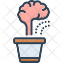 Improvement Brain Development Icon