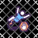 Coordination Slipping Prevention Icon